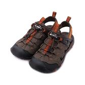 DIADORA 束繩護趾運動涼鞋 咖啡 DA71200 男鞋