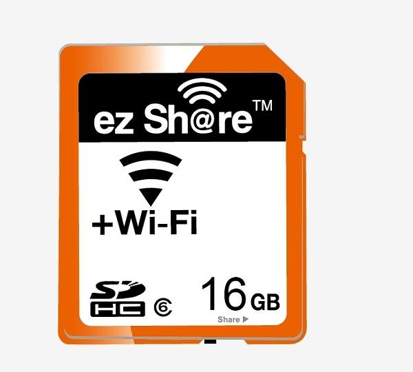 【】 ez Share Wi-Fi SDHC-16GB 易享派 ezShare ES100 16G class 10 【公司貨】