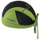 自行車頭巾 防曬-經典綠色雙拼設計男女單車運動頭巾73fo21【時尚巴黎】