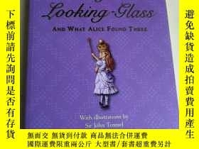 二手書博民逛書店Through罕見the Looking-Glass: And What Alice Found There 英文