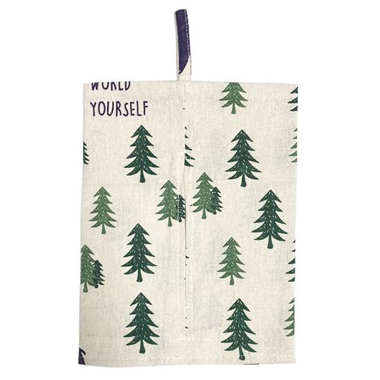 衛生紙 掛袋 面紙盒 防塵 收納袋 紙巾掛袋 濕紙巾 ZAKKA 布藝 可掛式棉麻面紙套【X021-1】MY COLOR
