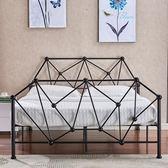 床架 歐式現代簡易臥室公寓鋼管鐵藝雙人床1.5鐵架床1.8單人床架1.2米igo 傾城小鋪