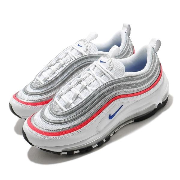 Nike 休閒鞋 Wmns Air Max 97 ESS 白 銀 女鞋 復古慢跑鞋 運動鞋【ACS】 CZ6087-101