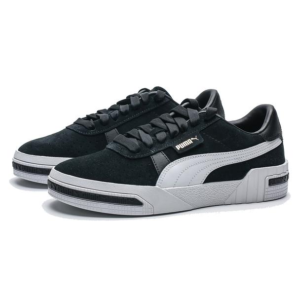 PUMA CALI TAPED WNS 黑 白LOGO 麂皮 厚底 休閒鞋 女 (布魯克林) 37081903