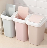 垃圾桶 家用客廳臥室衛生間有蓋創意廚房大號紙簍塑料可愛簡約帶蓋jy【快速出貨八折搶購】