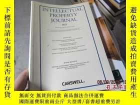 二手書博民逛書店intellectual罕見property journal 2