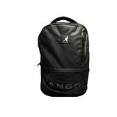 KANGOL 黑色大容量後背包-NO.6025320720