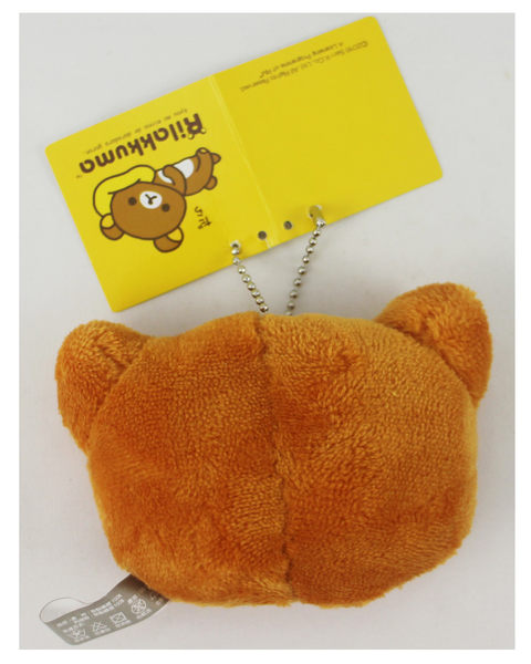 【卡漫城】 拉拉熊 8cm高 吊飾 兩入一組 貓耳 ㊣版 布偶 絨毛 娃娃 Rilakkuma 懶懶熊 裝飾 玩偶 掛飾