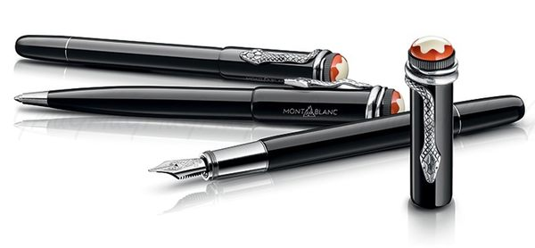 Montblanc 萬寶龍 傳承系列 Rouge & Noir  限量黑 F尖 鋼筆