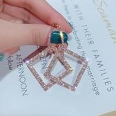百搭耳環新款潮925銀針歐美夸張韓國長款氣質個性耳釘耳飾女新年交換禮物