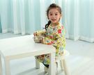 【韓風童品】 (套頭款式)長袖兒童防水畫畫衣 玩沙衣 罩衣 吃飯衣防水圍兜 卡通圍兜  學習衣