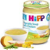 Hipp 喜寶 天然蔬菜雞肉湯190gx6罐 600元
