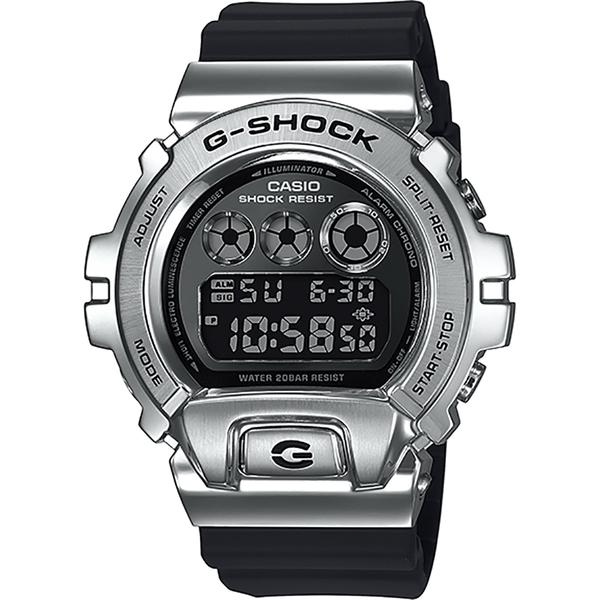 CASIO 卡西歐 G-SHOCK DW-6900 25周年金屬手錶 GM-6900-1
