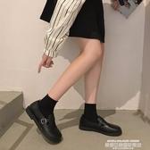 娃娃鞋娃娃鞋女2020秋季新款平底百搭網紅圓頭復古英倫風小皮鞋一腳蹬潮 萊俐亞
