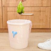 ✭米菈生活館✭【K135-1】大象磁鐵垃圾桶夾子 掛鉤 固定 防滑 垃圾袋 防掉 便捷 居家 衛浴