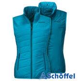 德國 SCHOFFEL 女 防風保暖 雙面背心 水藍 2011158