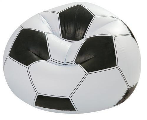 [衣林時尚] INTEX 足球造型充氣沙發 108CM X110CM X 66CM (最大100kg) 充氣椅 68557