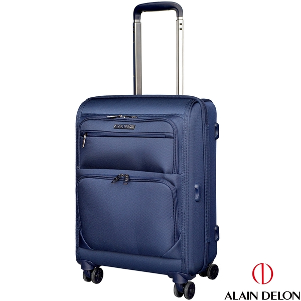 ALAIN DELON 亞蘭德倫 20吋 品味風格系列行李箱(藍)