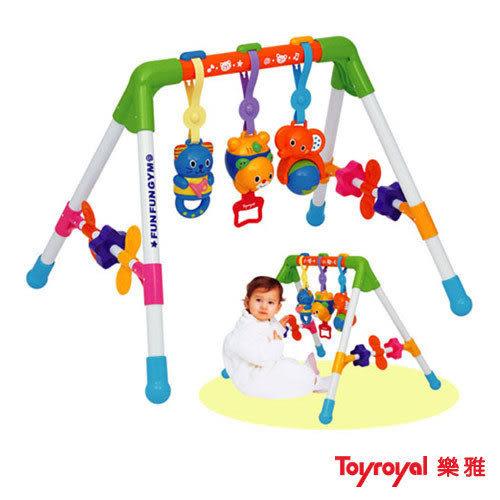 『121婦嬰用品館』樂雅Toy Royal新四腳健力架