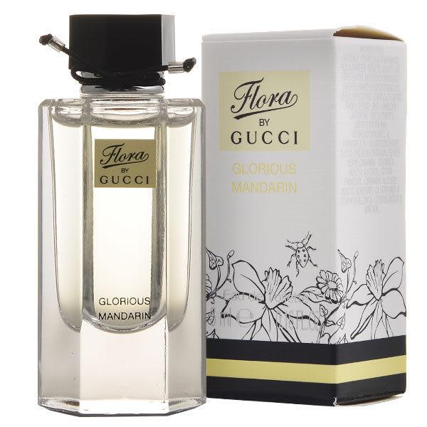 Gucci FLORA 花園香氛 絢麗 橙 女性淡香水 5ml【七三七香水精品坊】