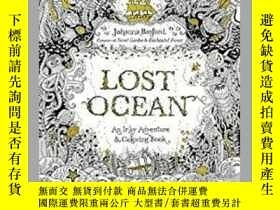 二手書博民逛書店Lost罕見Ocean:An Inky Adventure an