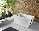 【麗室衛浴】BATHTUB WORLD  YG3361W 造型獨立缸 138*70*60CM