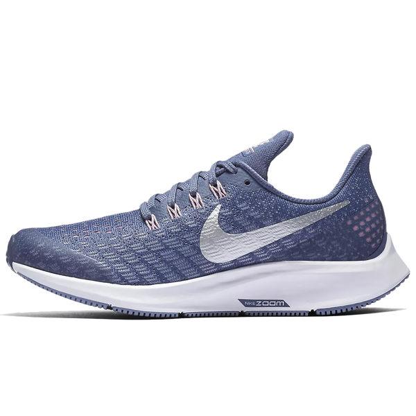 Nike Air Zoom 35 女款 紫藍色 慢跑鞋 Pegasus 路跑鞋 運動鞋 透氣 網布 緩震 氣墊 小飛馬 AH3481400