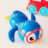 麥肯齊發條玩具游泳企鵝兒童洗澡玩具寶寶戲水 交換禮物