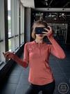 瑜伽服 顯瘦速干衣運動衛衣長袖夜跑步套裝女健身服寬鬆瑜伽服上衣【購物節狂歡】