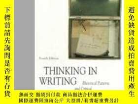 二手書博民逛書店Thinking罕見In WritingY364682 Mcquade, Donald (edt)  Atwa