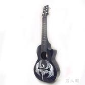 28寸6弦迷你吉他個性麗麗吉他里里旅行小吉他莉莉AZL-28-10 PA6713『男人範』