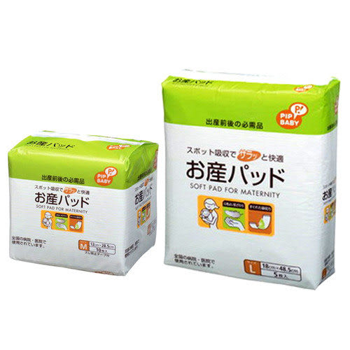 【奇買親子購物網】東京西川 PIP BABY產褥護墊(M/L)