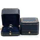 戒指盒 珠寶首飾包裝盒鉆戒盒子求婚高檔項...