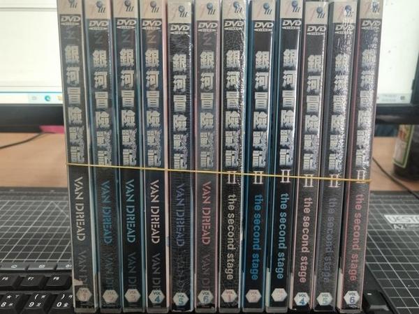 挖寶二手片-THD-174-正版DVD-動畫【銀河冒險戰記 第1+2部 完 12碟】-日語發音(直購價)