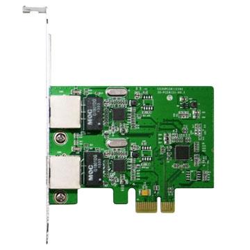 伽利略 PETL02 PCI-E GIGA LAN 2.5Gb 2 埠 擴充卡 網路卡
