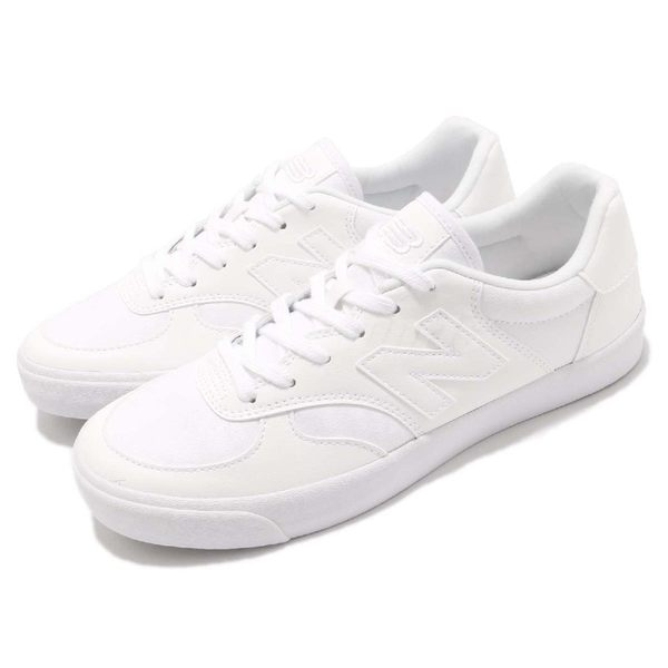 New Balance 休閒鞋 CRT300 N字鞋 白 全白 低筒 平底鞋 男鞋 女鞋【PUMP306】 CRT300XED