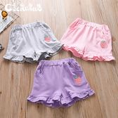 女童短褲小仙娃娃女童休閒小短褲純棉寶寶夏季外穿童褲百搭兒童沙灘褲 寶貝計畫