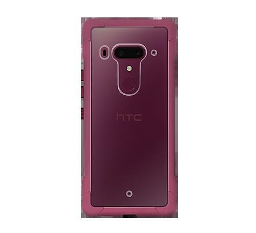 HTC U12 空壓殼雙料防震套商務軟硬殼【聚寶屋】