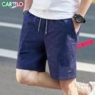 鱷魚短褲男夏季外穿五5分褲休閒運動四4分褲修身中褲沙灘褲 快速出貨
