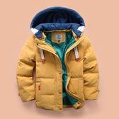 兒童羽絨服男童新款韓版加厚羽絨外套