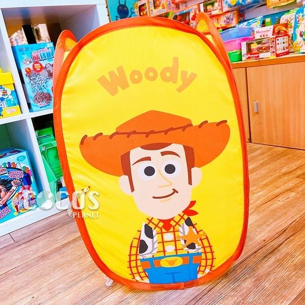 韓國大創 PIXAR 玩具總動員 輕便型折疊洗衣籃 收納籃 髒衣籃 衣物收納 胡迪款 COCOS SK042