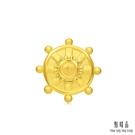 點睛品 Charme文化祝福 八瑞相-金輪 黃金串珠