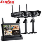 【SecuFirst】數位無線網路監視器。一鏡三機 DWH-A059X