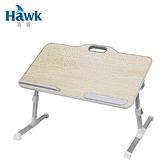 【Hawk 浩客】T558 手提式多功能摺疊桌(橡木紋)