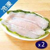 巴沙魚片3入(淨重350G±5%/包)X2【愛買冷凍】