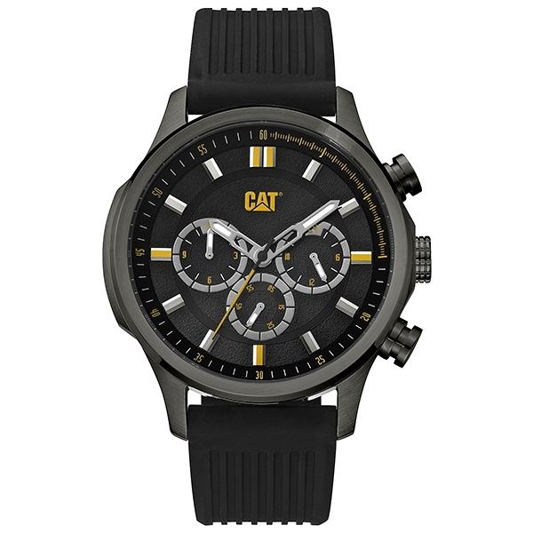 【CAT Watch】MAVERICK時尚三眼潮流腕錶-霸氣黑/AG.159.21.127/台灣總代理公司貨享兩年保固