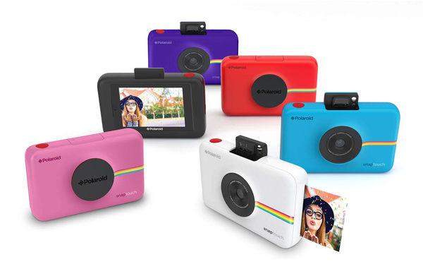 Polaroid 寶麗萊 Snap Touch 數位拍立得相機 3.5吋觸控螢幕 黑色〔使用ZINK相紙〕公司貨  贈相紙30張