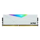 威剛 XPG D50 DDR4 3200 32G(16G*2) 超頻 RGB 炫光白色記憶體