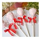 幸福朵朵【義大利超好吃~草莓造型大棉花糖】二次進場/送客喜糖/生日/畢業/來店禮/尾牙/婚禮小物