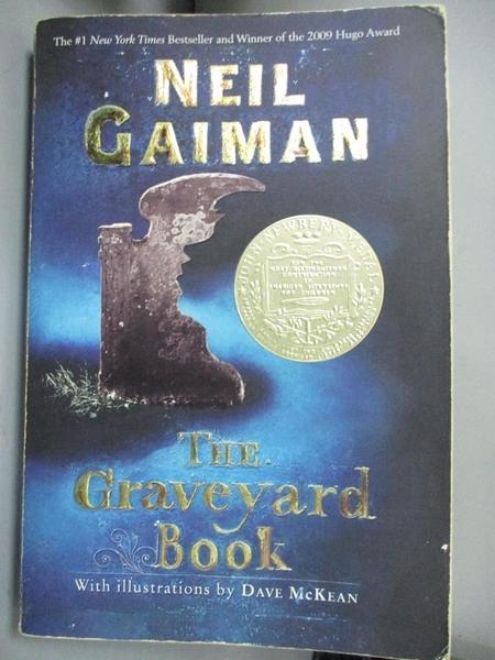 【書寶二手書T1/原文小說_IHX】The Graveyard Book_Gaiman, Neil/ McKean, Dave (ILT)